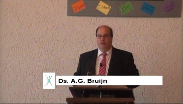 ds. A.G. Bruijn, Efeziërs 1: 13, 14, Wetsinge-Sauwerd
