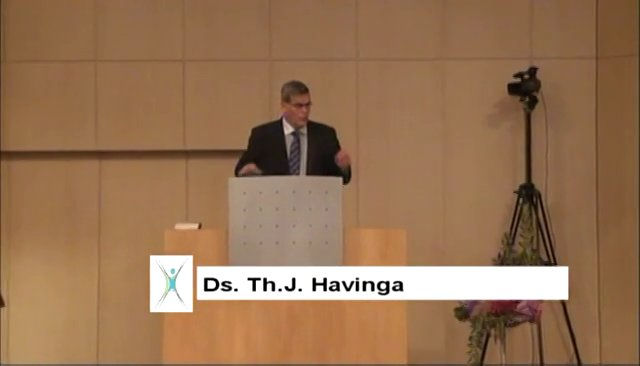 Ds. Th.J. Havinga, Hebreeën 12 : 1, 2